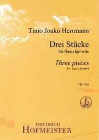 Timo Jouko Herrmann: Drei Stücke für Bassklarinette