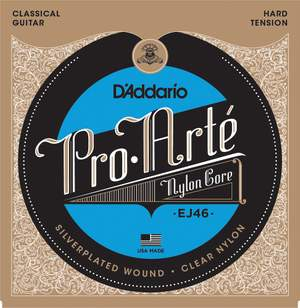 D'Addario EJ46 Pro-Arté Nylon Classical Guitar Strings, Hard Tension Product Image