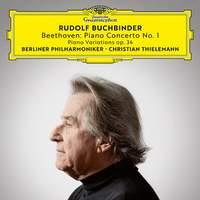 Beethoven: Piano Concerto No. 1, Op. 15 & 6 Piano Variations in F Major, Op. 34