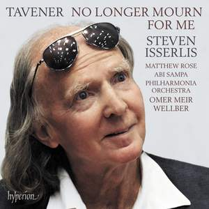 Tavener: No longer mourn for me & other works for cello