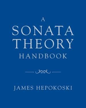 A Sonata Theory Handbook Product Image