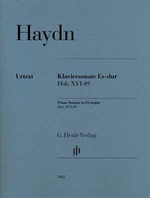 Haydn, Joseph: Piano Sonata in E flat major Hob. XVI:49 Product Image