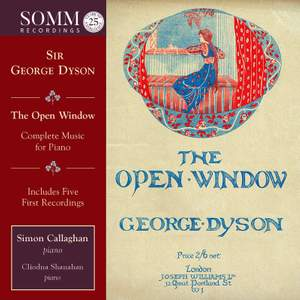 George Dyson: The Open Window Product Image