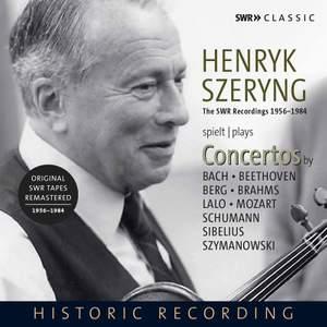 Henryk Szeryng Plays Violin Concertos