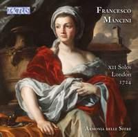 Mancini: X11 Solos, London 1724