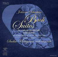 Johann Sebastian Bach Suites for viola da gamba solo without bass (Ii)