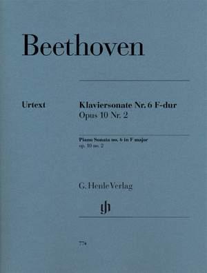 Beethoven, L v: Piano Sonata no. 6 F major op. 10 no. 2 op. 10,2 Product Image