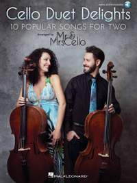 Cello Duet Delights: 10 Popular Songs for Two