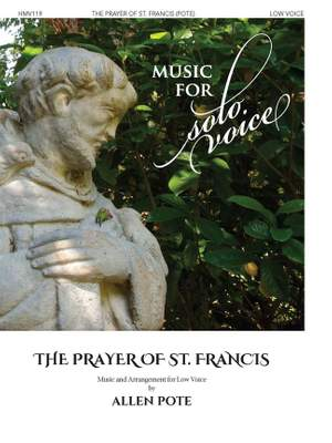 Allen Pote: The Prayer of St. Francis Product Image