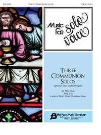 Three Communion Solos