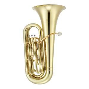 Jupiter Bb Tuba 3/4, 3 valves, lacquered