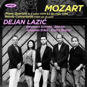 Mozart: Piano Quartets, Rondo Concertante Product Image