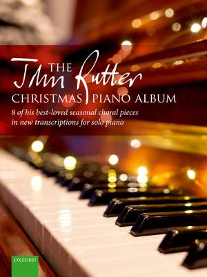 The John Rutter Christmas Piano Album Product Image