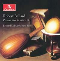 Robert Ballard: Premier Livre de Luth, 1611