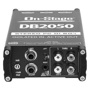 On-Stage Stereo Multi Media Active Di Box