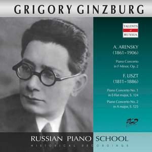 Arensky & Liszt: Piano Concertos (Live)