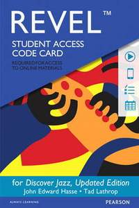 Revel for Discover Jazz, Updated Edition -- Access Card