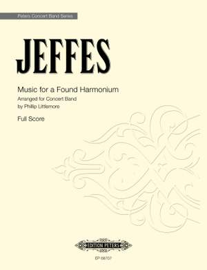 Jeffes, S: Music for a Found Harmonium Product Image