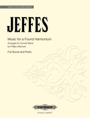 Jeffes, S: Music for a Found Harmonium