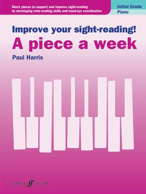 Improve your sight-reading! A piece a week Product Image