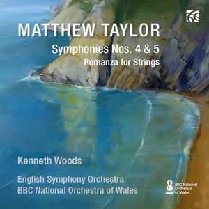 Taylor: Symphonies Nos. 4 & 5 Product Image