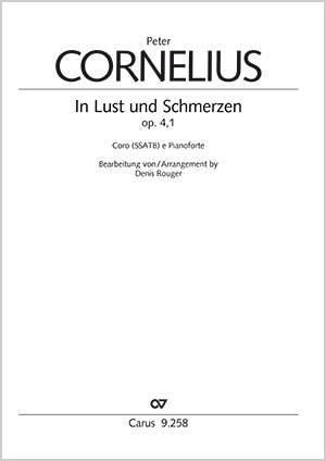 Cornelius: In Lust und Schmerzen, Op. 4/1 (A flat major)
