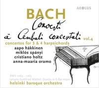 JS Bach: Concerti A Cembali Concertati