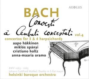 JS Bach: Concerti A Cembali Concertati Product Image