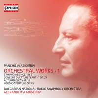 Vladigerov: Orchestral Works, Vol. 1