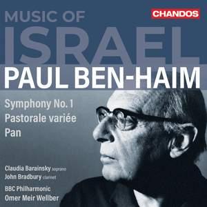Paul Ben-Haim: Music of Israel Product Image