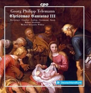 Telemann: Christmas Cantatas III Product Image