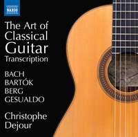 The Art of Classical Guitar Transcription