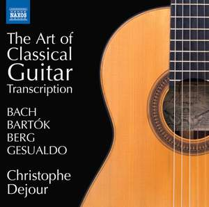 The Art of Classical Guitar Transcription