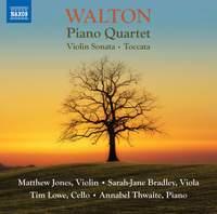 William Walton: Piano Quartet, Violin Sonata & Toccata