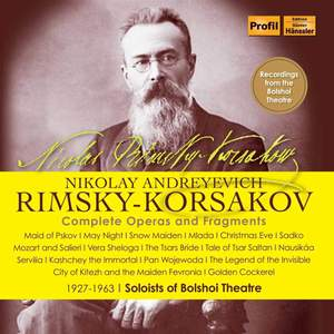 Rimsky-Korsakov: Operas Product Image