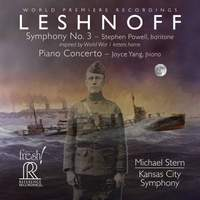 Leshnoff: Symphony No. 3 & Piano Concerto