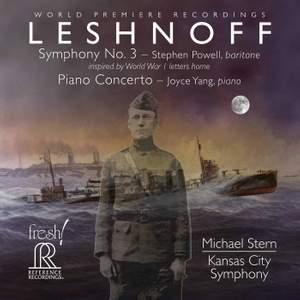 Leshnoff: Symphony No. 3 & Piano Concerto Product Image