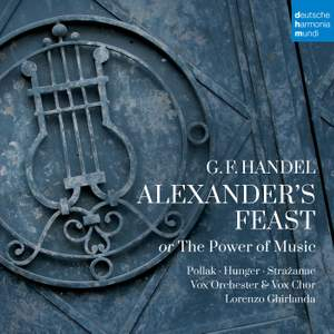 Händel: Alexander's Feast or The Power of Music Product Image