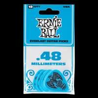 Ernie Ball Everlast Picks 12-pack Blue .48mm