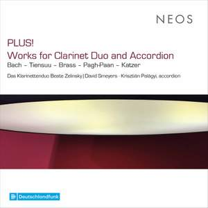 Plus! - Works For Clarinet Duo and Accordion Product Image