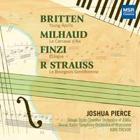 Britten, Milhaud, Finzi and R. Strauss - Music for Piano and Orchestra
