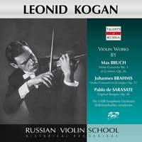 Bruch, Brahms & Sarasate: Works for Violin & Orchestra (Live)