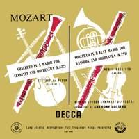 Mozart: Symphony No. 33, Clarinet Concerto & Bassoon Concerto