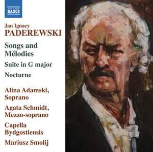 Paderewski: Songs & Melodies