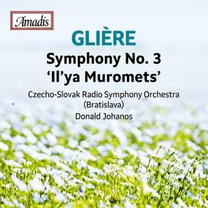 Glière: Symphony No. 3 in B Minor, Op. 42 'Ilya Muromets' Product Image