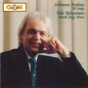 Johannes Brahms: 28 Songs