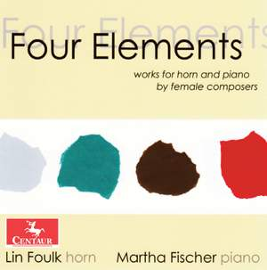 Four Elements: Works for Horn & Piano by Female Composers Product Image