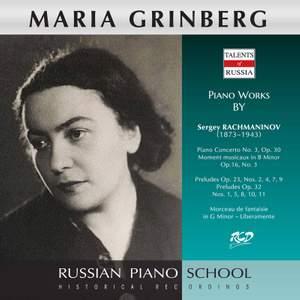 Rachmaninoff: Works