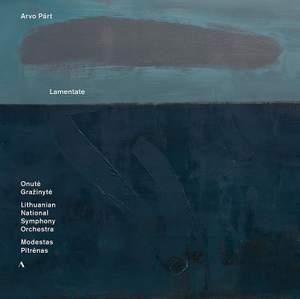 Arvo Pärt: Lamentate - Vinyl Edition