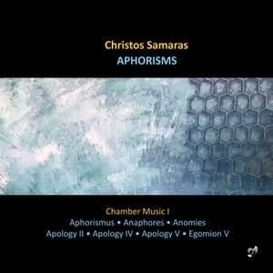 Samaras: Aphorisms